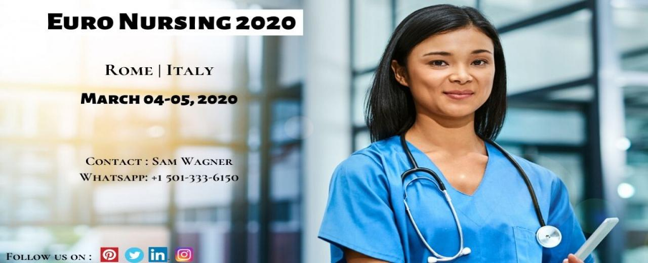 Nursing Conferecnes|Euro Nursing 2020|ITALY