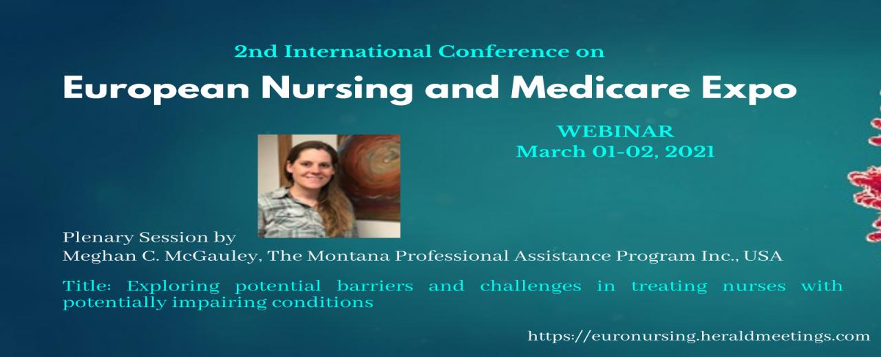 Euro Nursing 2021 WEBINAR | Megan